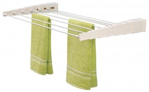 Household Essentials Telescoping Wall Mount Drying Rack