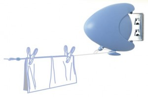 Moerman Single Line Retractable Clothesline