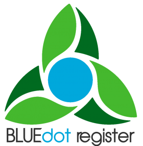 BLUEdot Register