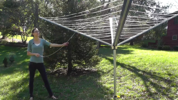 The Stewi First Lady Rotary Clothes Dryer