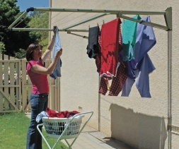 Clothesline Specialists Retractable Rotary Racks