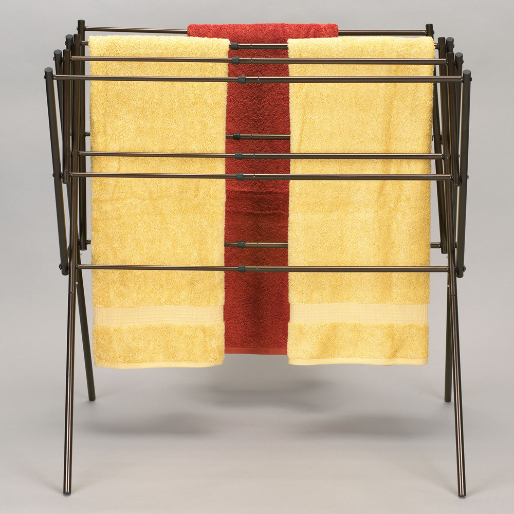 Home :: All Product :: Expandable Clothes Drying Rack - Antique Bronze