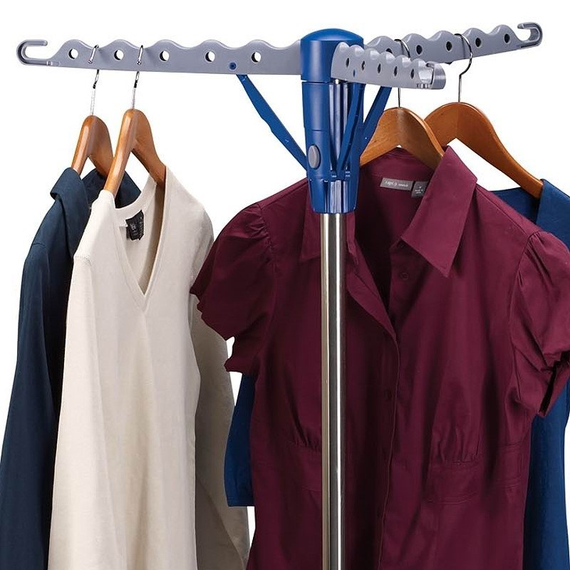 Household Essentials Tripod Freestanding 1 Tier Stainless Clothes Dryer    Urban Clotheslines