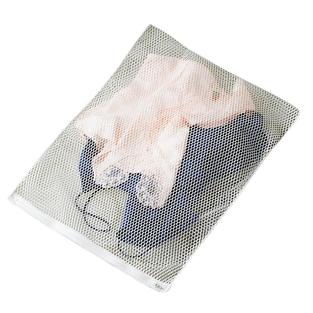 Lingerie Wash Bag - White Polyester