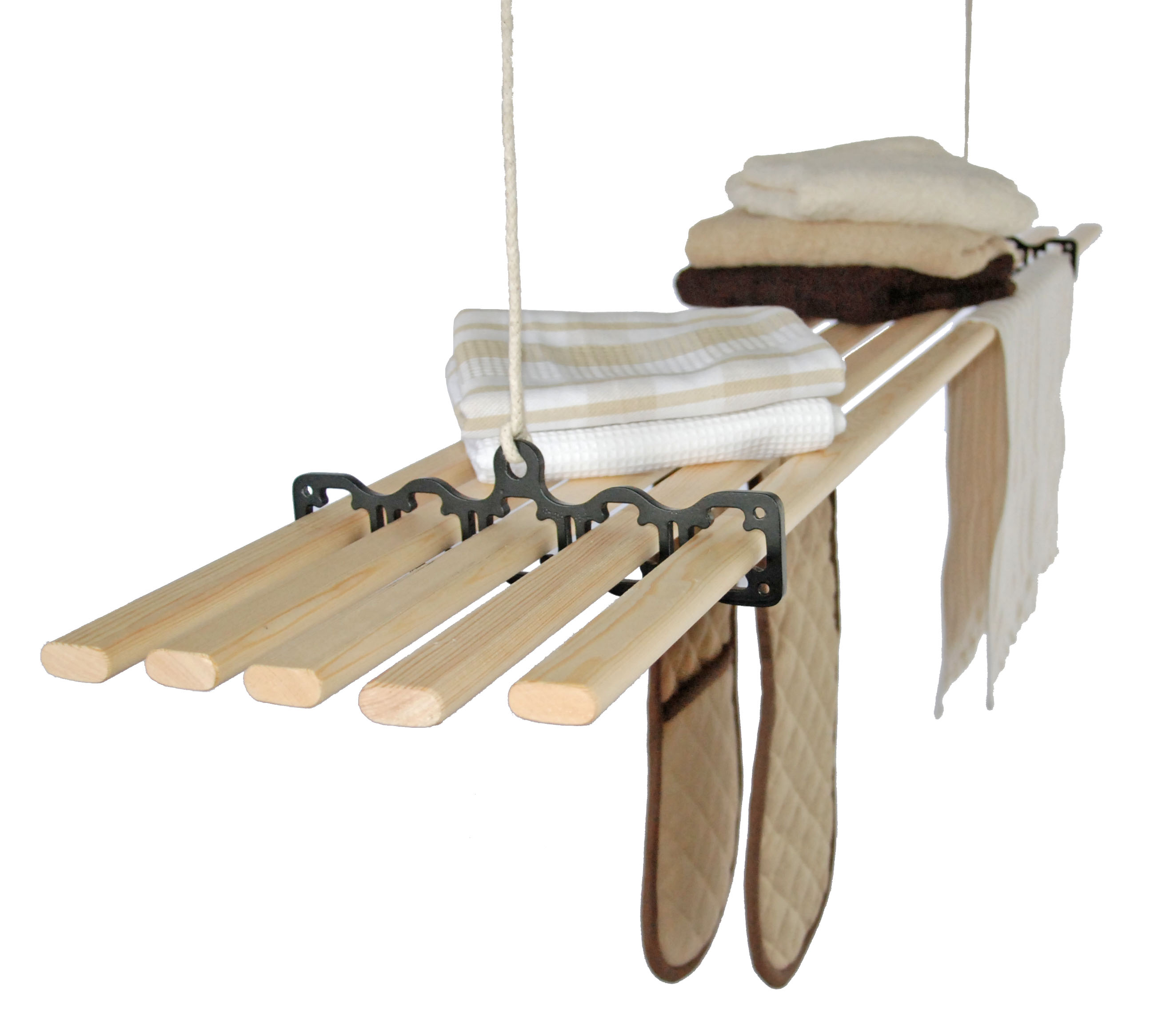 Five Lath Gismo Ceiling Clothes Airer