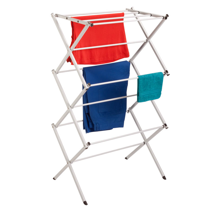 Compact Folding Drying Rack