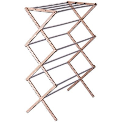 Indoor Collapsible Wood Drying Rack