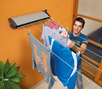 Hills Extenda 4 Compact Retractable Clothesline