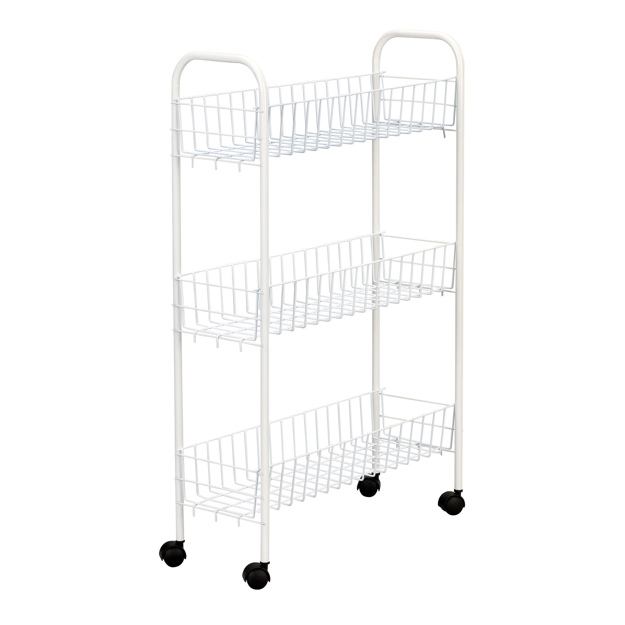 3 Shelf Slim Utility Cart