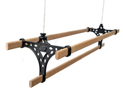 Tri 3 Lath Pulley Clothes Airer Kitchen Maid
