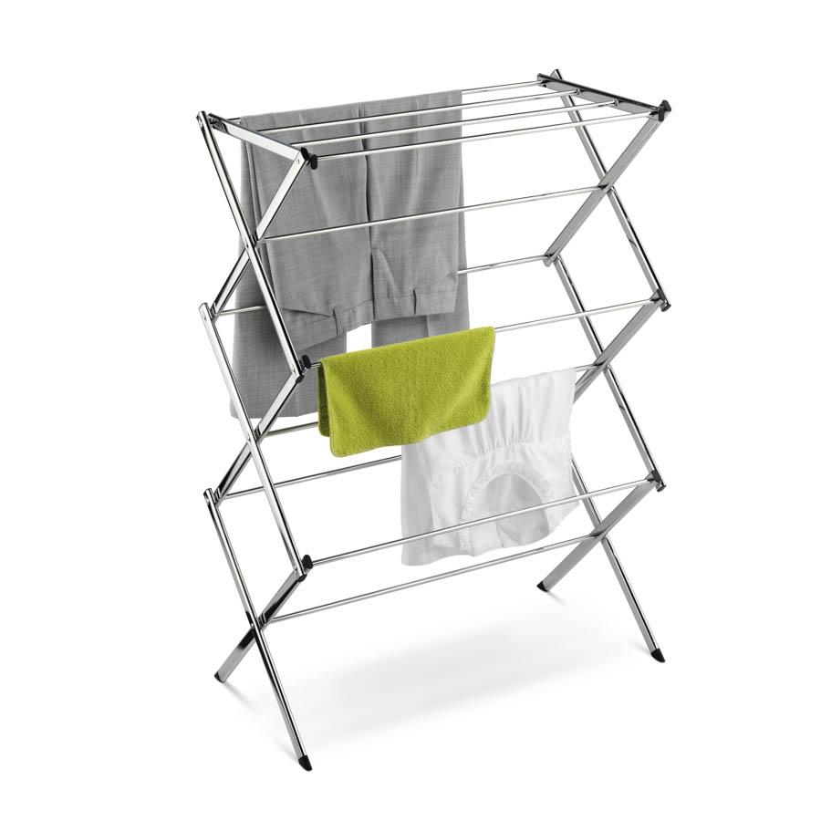 Chrome Accordion Drying Rack