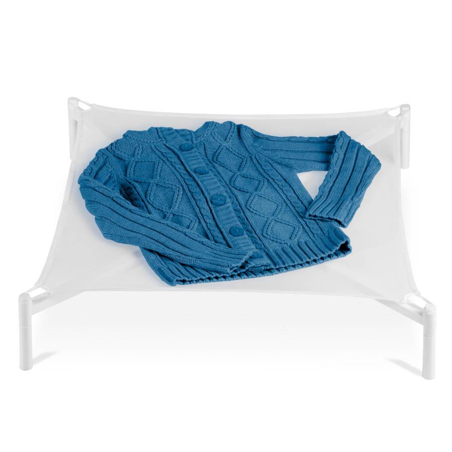 Folding Sweater Drying Rack, White