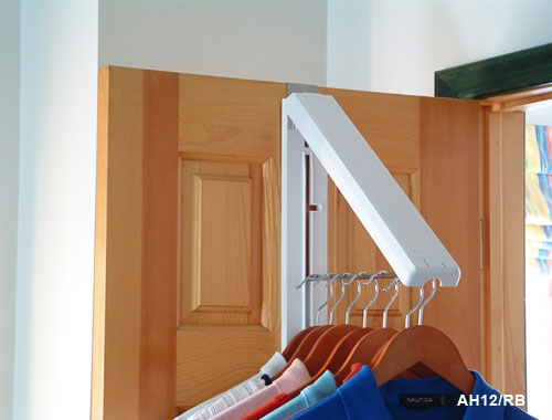 QTY TWO! InstaHANGER Fold Away Clothes Dryer with Door Mount - BUY ONE GET 2nd 50% OFF
