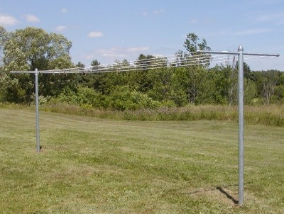 Heavy Clad T-Post Clothesline System