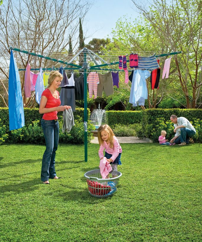 Hills Rotary 8 Umbrella Clothesline