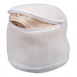 Bra Wash Bag 2-Sided - White Polyester