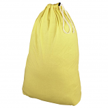 100% Polyester Jersey Bag - Pastel Yellow