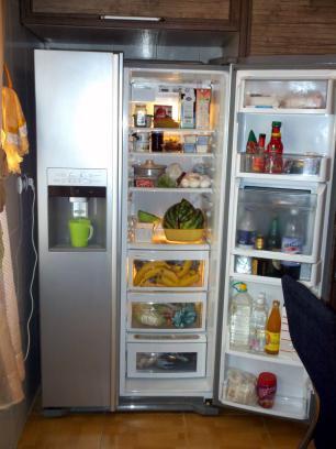 Open fridge photo courtesy of Milad Mosapoor