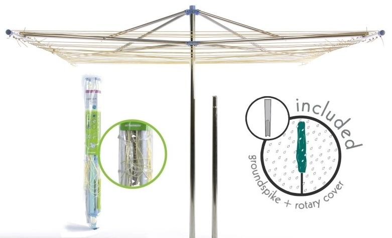 Moerman Parallel Umbrella Clothesline