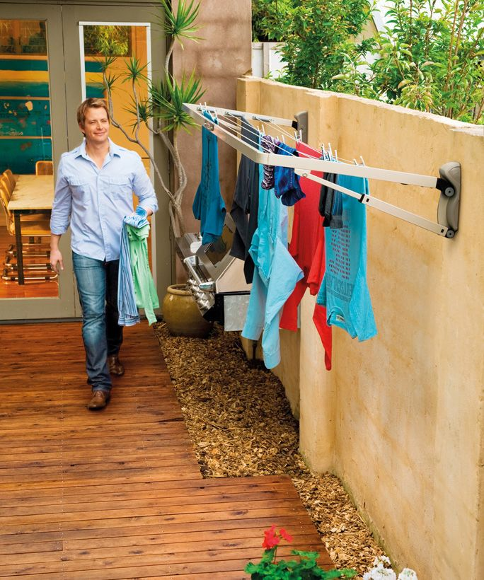 Clothes Drying On A Clothesline ~ Outdoor clothes drying rack cosmecol