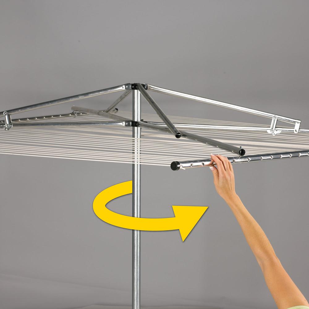 household essentials large 182ft parallel clothesline urban clotheslines. Black Bedroom Furniture Sets. Home Design Ideas