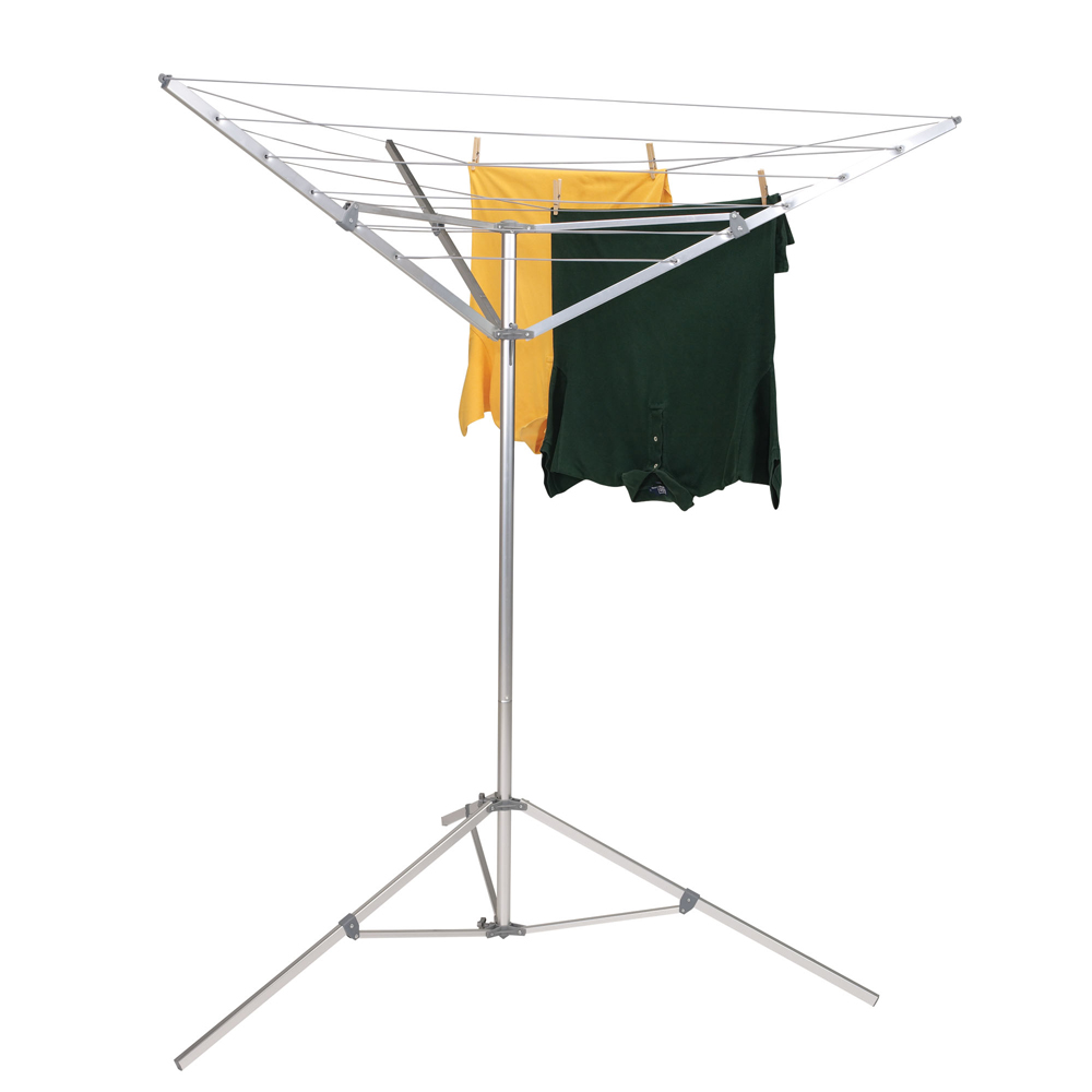 Household Essentials Portable Umbrella Tripod Clothes Dryer   Urban  Clotheslines