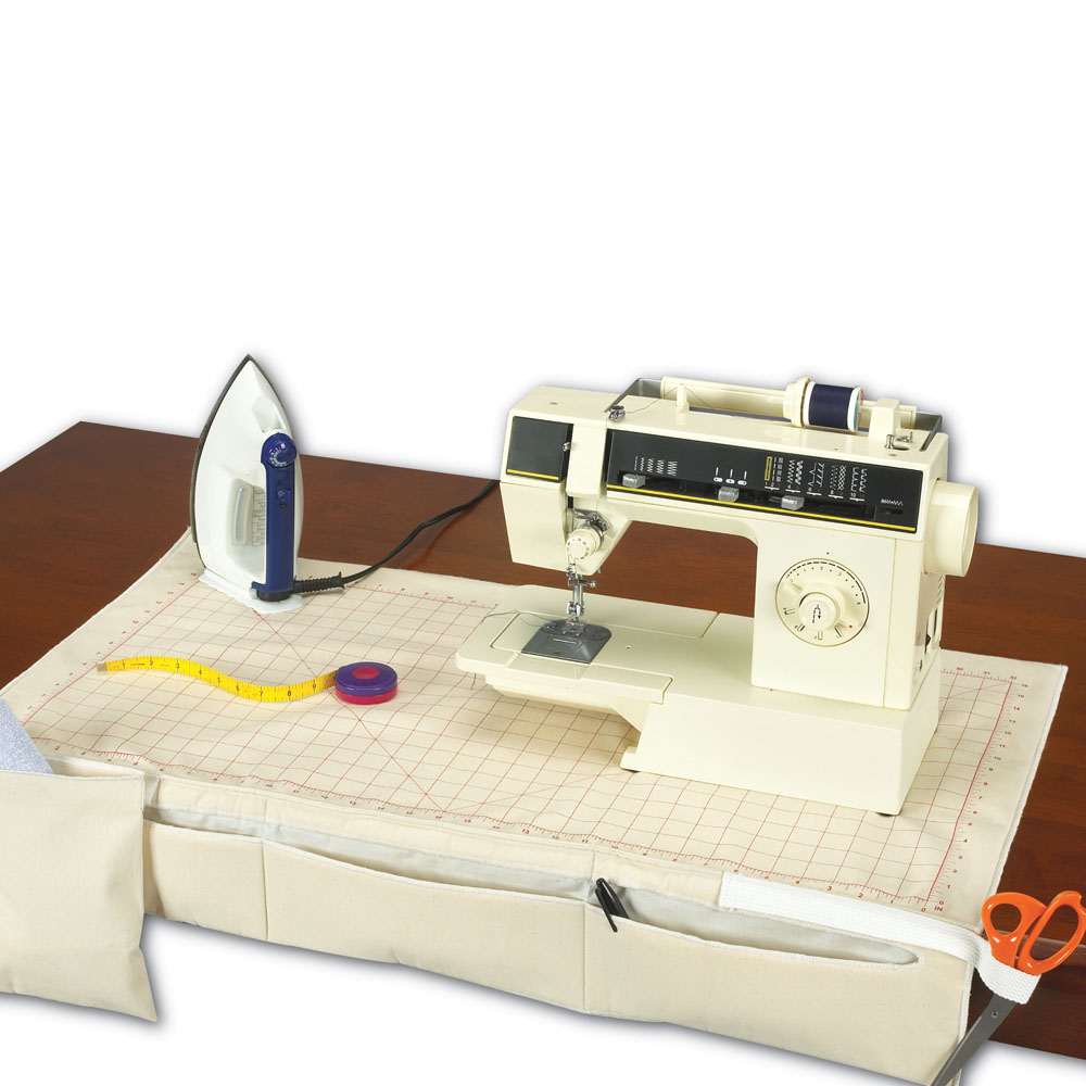 Sewing Center - Aide and Caddy - 100% Cotton - 5mm Foam Pad