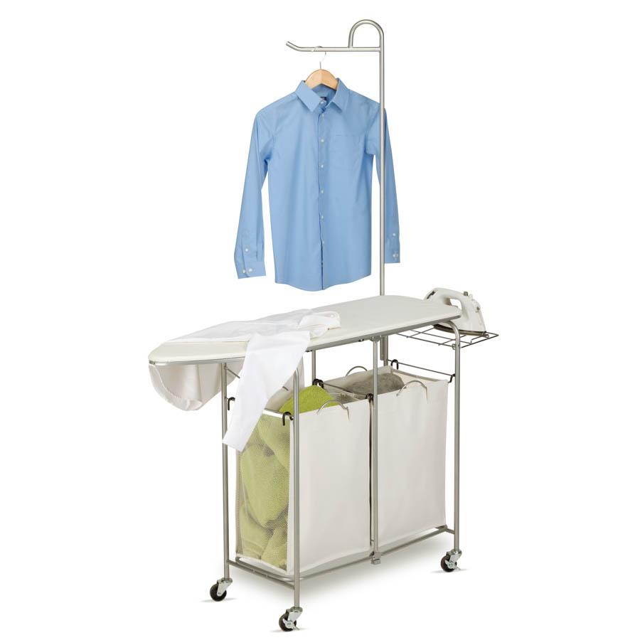 Foldable Ironing Laundry Center And Valet
