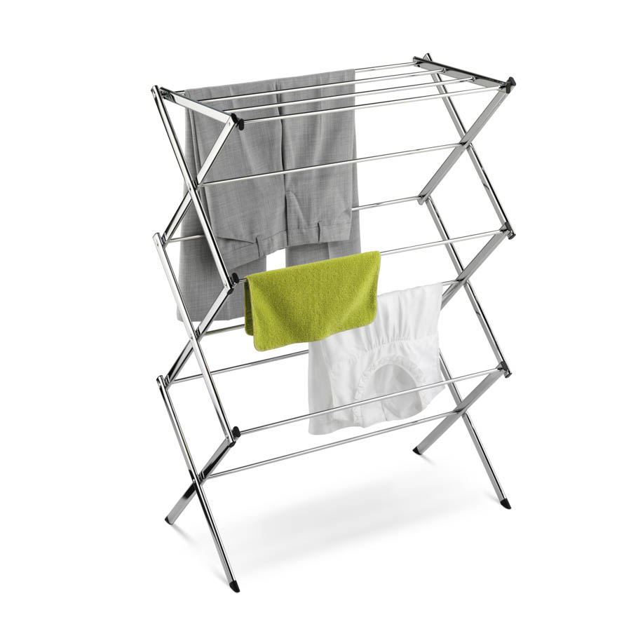 Chrome Accordion Drying Rack