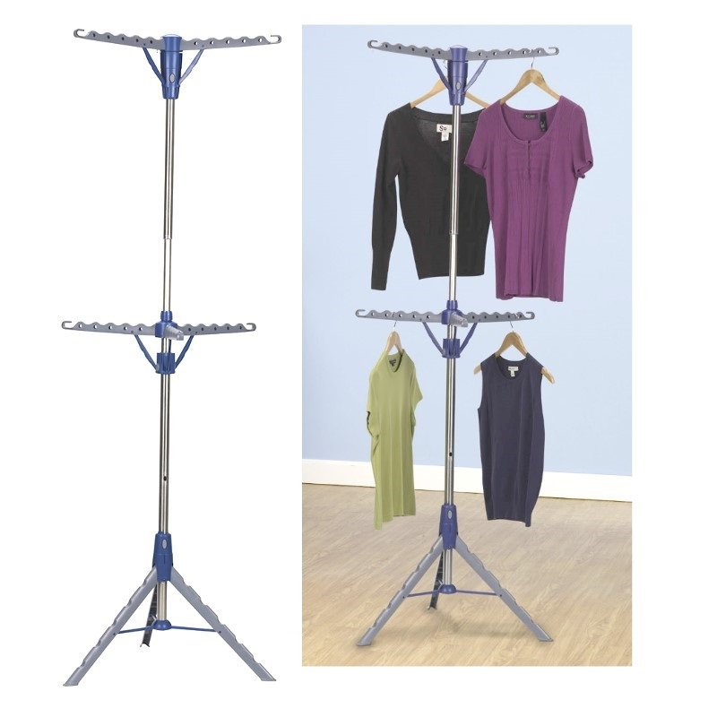 2 Tier Tripod Clothes Air Dryer