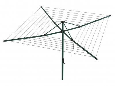 Hills Rotary 6 Umbrella Clothesline - Norfolk Pine (Dark Green)